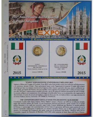 AGGIORNAMENTO 2€ ITALIA 2015 DANTE/EXPO