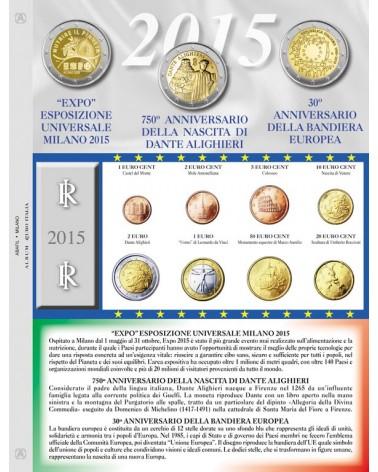 EURO ITALIA - MONETE SCIOLTE 2015