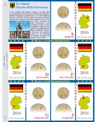 2€ delle 5 Zecche di Germania, aggiornamento 2016