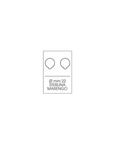 Moneyfloc - Scatola 10 astucci - diam. 22 mm, 2 monete