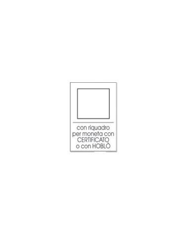 Moneyfloc -Astuccio singolo - riquadro per certificato
