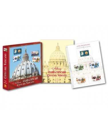 ALBUM COMPLETO COIN CARD VATICANO