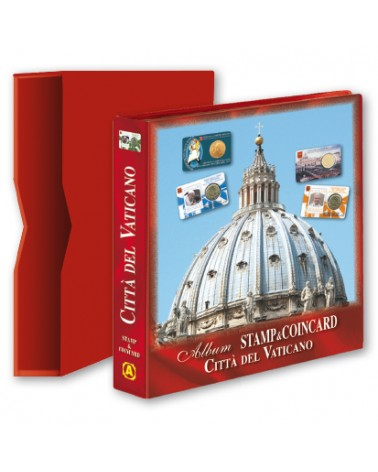 ALBUM VUOTO COIN CARD VATICANO