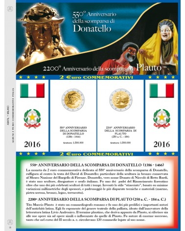 AGGIORNAMENTO 2€ COMM. ITALIA 2016 DONATELLO/PLAUTO
