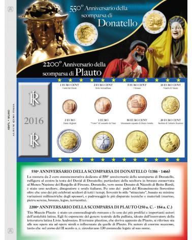 EURO ITALIA - MONETE SERIE SCIOLTE 2016