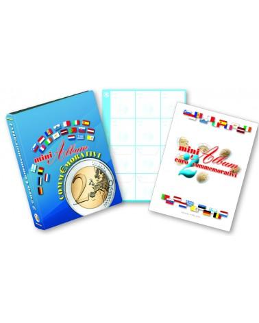 Conf. da 6 fogli gen. Mini album 2 € commemorativo