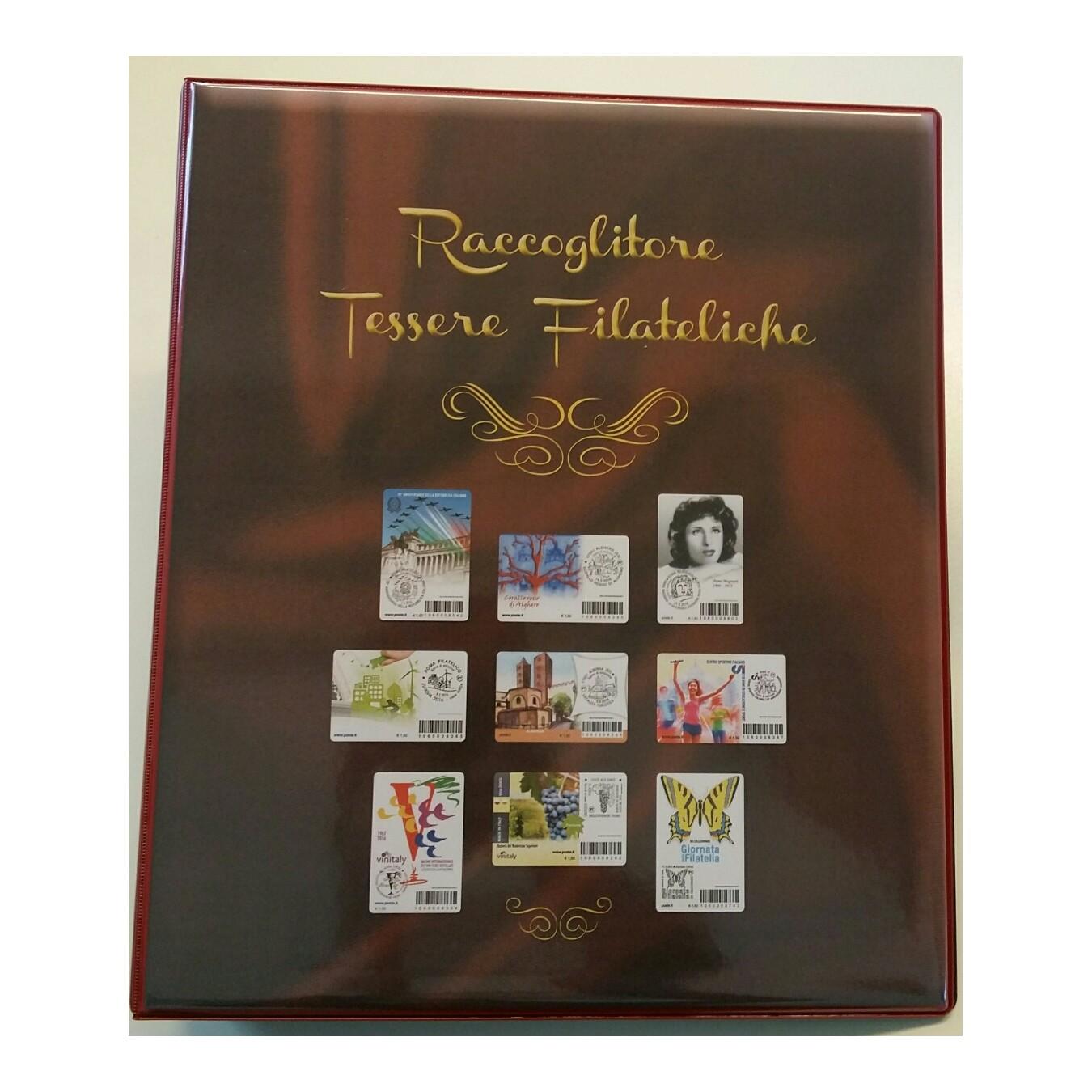 ALBUM PER TESSERE FILATELICHE