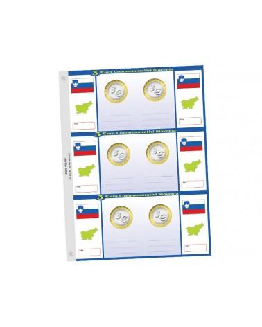 3€ Slovenia - conf. 1 foglio generico