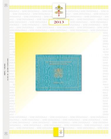 VATICANO- SERIE DIVISIONALE 2013