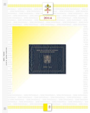 VATICANO- SERIE DIVISIONALE 2014
