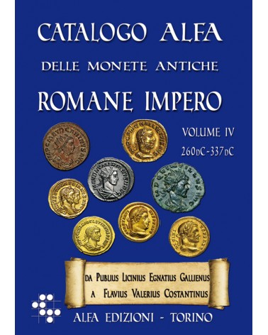 CATALOGO ALFA MONETE ROMANE IMPERO VOL. 4