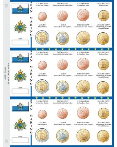 Foglio EuroMoney San Marino - 3 Serie
