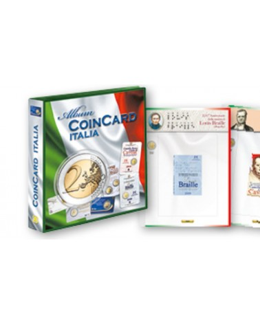 ALBUM COMPLETO 2€ COIN CARD ITALIA