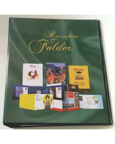 ALBUM PER FOLDER FILATELICI - VUOTO