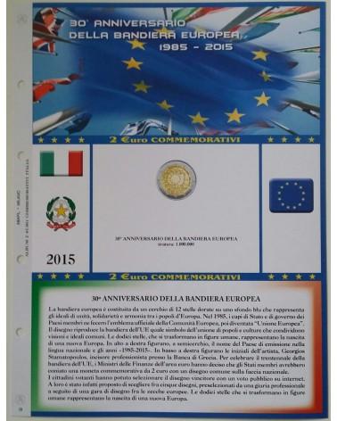 AGGIORNAMENTO 2€ ITALIA 2015 BANDIERA