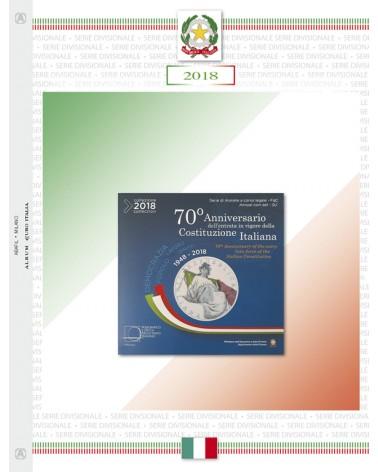 Euro Italia - Serie Divisionali 2018 anniversario costituzione