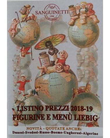 CATALOGO SANGUINETTI - LISTINO PREZZI FIGURINE LIEBIG 2018