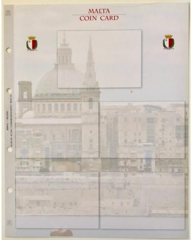 FOGLIO COIN CARD MALTA GENERICO