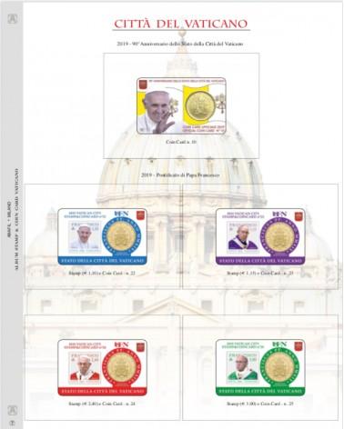 1-AGGIORNAMENTO VATICANO COIN CARD 2019 ANN. STATO