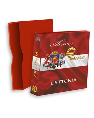 ALBUM EUROMONEY LETTONIA VUOTO