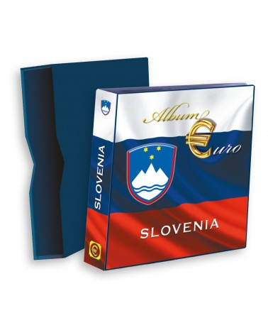 ALBUM EUROMONEY SLOVENIA VUOTO