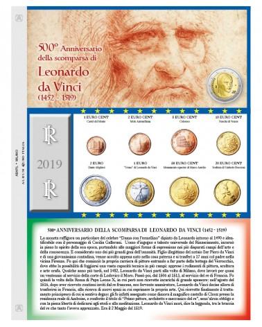 EURO ITALIA - MONETE SERIE SCIOLTE  2019