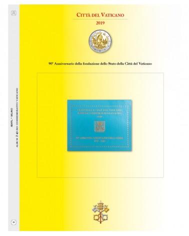 1- AGGIORNAMENTO VATICANO 2€ COMM. 2019 - 90° FONDAZIONE