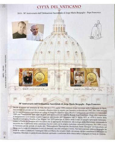 1-AGGIORNAMENTO VATICANO COIN CARD 2019 ORD.SACERDOTALE