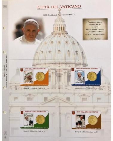 1-AGGIORNAMENTO VATICANO COIN CARD 2020 PONTIFICATO