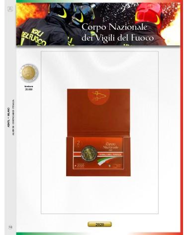 AGG. 2€ ITALIA COIN CARD VIGILI DEL FUOCO 2020