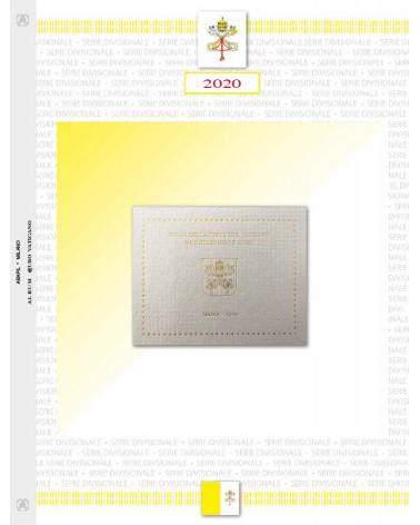 VATICANO- SERIE DIVISIONALI 2020