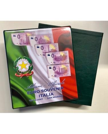 ALBUM € SOUVENIR ITALIA SOLO CARTELLA E CUSTODIA