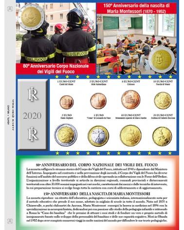 EURO ITALIA - MONETE SERIE SCIOLTE  2020