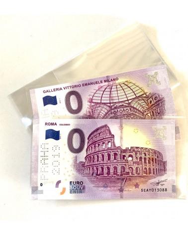 BUSTINE PER EURO BILLETS SOUVENIR