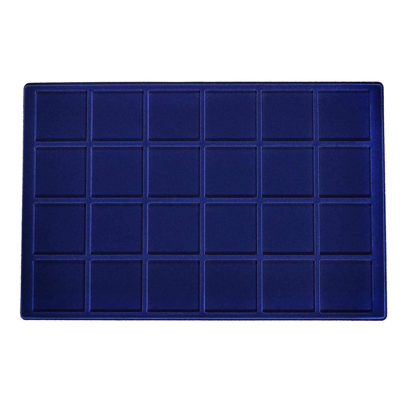 Ripiano Standard - Modello Floccato blu 24 caselle
