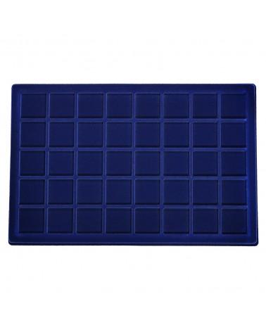 Ripiano Standard - Modello Floccato blu 40 caselle