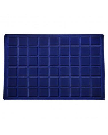 Ripiano Standard - Modello Floccato blu 54 caselle
