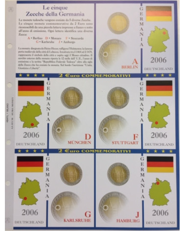 2€ delle 5 zecche di Germania, aggiornamento 2006