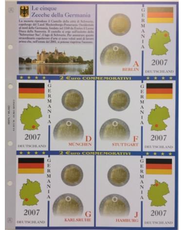 2€ delle 5 zecche di Germania, aggiornamento 2007