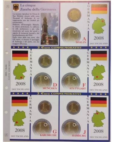 2€ delle 5 zecche di Germania, aggiornamento 2008