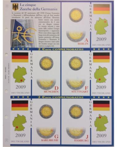 2€ delle 5 zecche di Germania, aggiornamento 2009