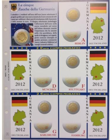 2€ delle 5 Zecche di Germania, aggiornamento 2012
