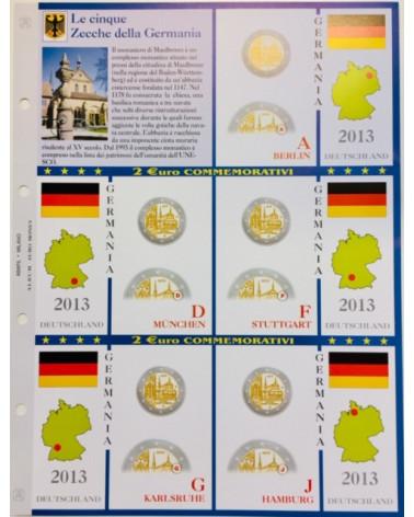 2€ delle 5 Zecche di Germania, aggiornamento 2013