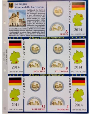2€ delle 5 Zecche di Germania, aggiornamento 2014