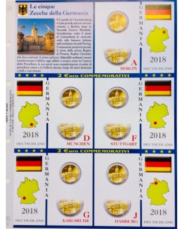 2€ delle 5 Zecche di Germania, aggiornamento 2018
