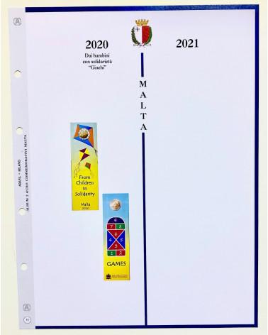 aggiornamento 2€ commemorativo malta 2020