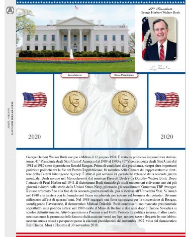 One dollar coins - Foglio di aggiornamento 2020