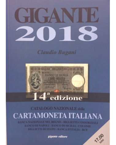 Catalogue gigante paper money 2018