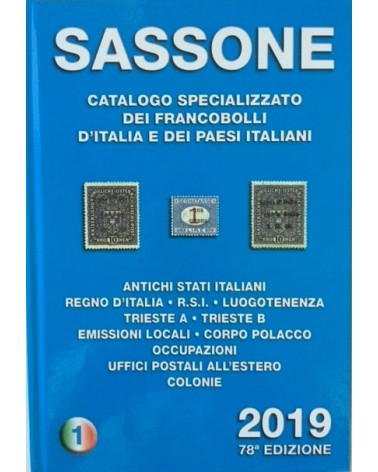 Catalogo sassone 2019 vol 1