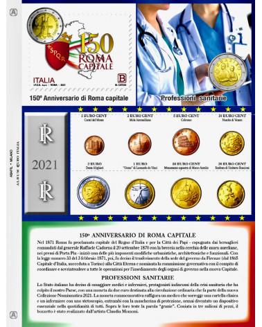 Euro Italy - Single set coins 2021